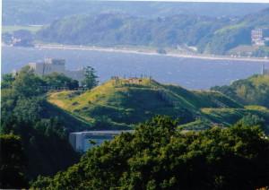 田和山の山頂部