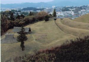 環壕部の風景