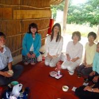 田和山遺跡の説明会と野点の会