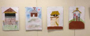 『子供たちの田和山発見  乃木小学校の地域学習支援』展
