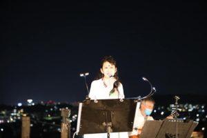Ritsuko in 田和山十五夜ライブ