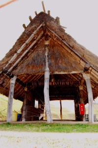 古代の復元建物