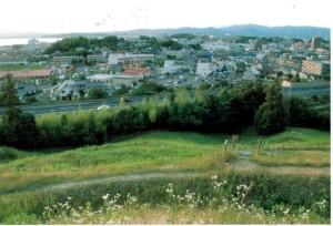 田和山山頂より北側