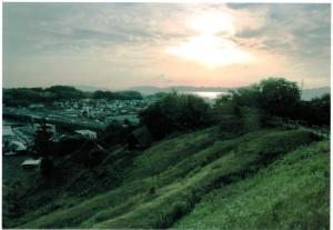 田和山山頂より西側